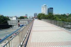 人行桥 免版税库存图片