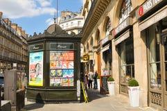 巴黎人街道 免版税库存照片