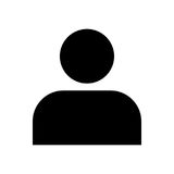 人象-传染媒介偶象设计 免版税库存图片
