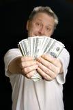 人货币提供 库存照片