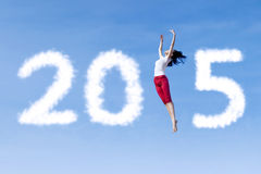 人跳舞和形成第2015年 免版税图库摄影