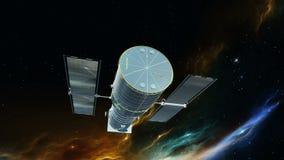 人造卫星 库存例证