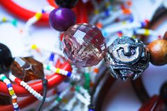 人造珠宝 免版税库存照片