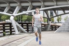人都市跑步 免版税图库摄影