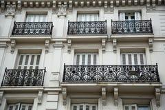 巴黎人阳台 免版税库存照片