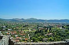 令人难忘的假期在黑山 库存图片