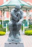 人雕塑 免版税库存照片