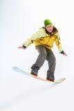 人雪板运动 免版税库存图片