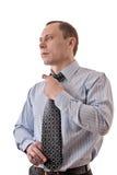 人领带关系 免版税库存图片