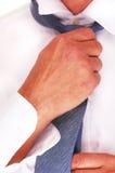 人领带附加 免版税库存照片