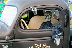 死人驾驶 库存图片