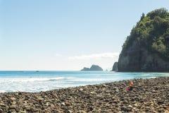 人们享受海景和休闲 图库摄影
