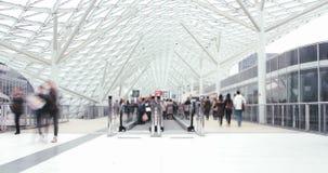 人们和建筑学在现代城市 影视素材