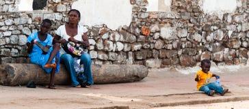 人们在加纳 库存照片