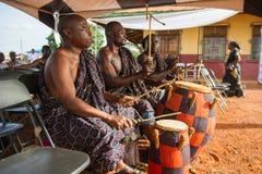 人们在加纳 免版税库存照片