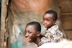 人们在加纳 免版税图库摄影