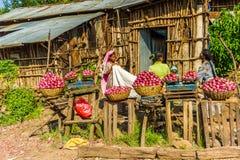 人们在埃塞俄比亚 免版税图库摄影