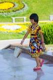 人们在塔什干,乌兹别克斯坦 库存照片