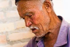 人们在塔什干,乌兹别克斯坦 免版税图库摄影