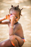 人们在多哥,非洲 库存照片