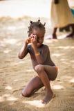 人们在多哥,非洲 免版税库存图片