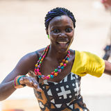 人们在安哥拉,罗安达 免版税库存照片