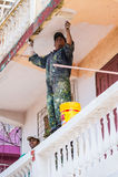 人们在安塔那那利佛,马达加斯加 免版税库存图片