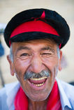 人们在布哈拉,乌兹别克斯坦 免版税库存照片