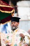 人们在拉利贝拉,埃塞俄比亚 免版税库存照片