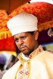 人们在拉利贝拉,埃塞俄比亚 免版税库存图片