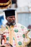 人们在拉利贝拉,埃塞俄比亚 库存照片