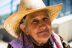 人们在撒马而罕,乌兹别克斯坦 库存照片