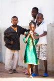 人们在班珠尔,冈比亚 图库摄影