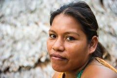 人们在秘鲁 免版税图库摄影
