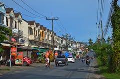 人们在繁忙的亚洲人街道上通常走 免版税图库摄影