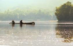人们在老挝 库存照片