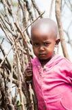 人们在肯尼亚 免版税库存图片