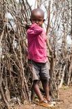 人们在肯尼亚 图库摄影
