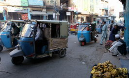 人们在巴基斯坦-日常生活 图库摄影