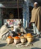 人们在巴基斯坦 免版税库存照片