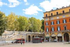 人们在9月20日的区域在波隆纳,意大利 免版税图库摄影