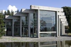 人类学博物馆在UBC的 免版税库存照片