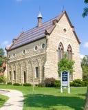 人类学摇石博物馆在Beloit学院的 免版税库存照片