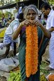 印第安农村市场 库存图片