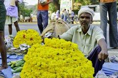 印第安农村市场 免版税图库摄影