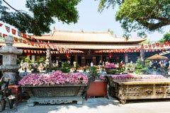人们法庭上的光孝寺在广州 库存照片
