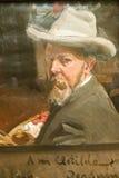 人绘画由Joaquï ¿ ½ n Sorolla如在Sorolla博物馆,马德里,西班牙中看到的y巴斯蒂达的(1863-1923) 免版税库存照片