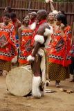 人们穿传统衣物 免版税库存照片