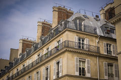巴黎人建筑学 免版税库存照片