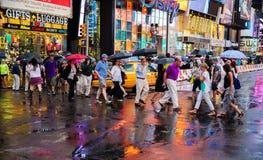 人们纽约 免版税库存照片